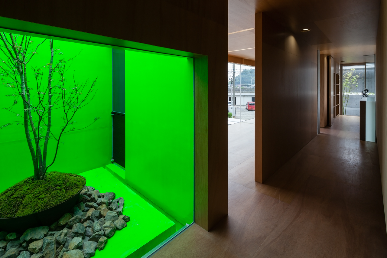 color glass house